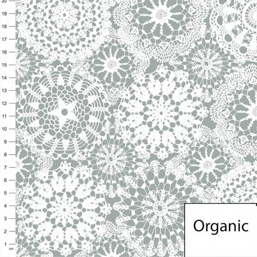 grey lace cover